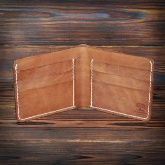 Canterbury handmade leather wallet