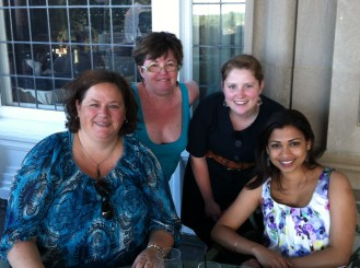Foodie meet up at the Fairmont Hotel MacDonald