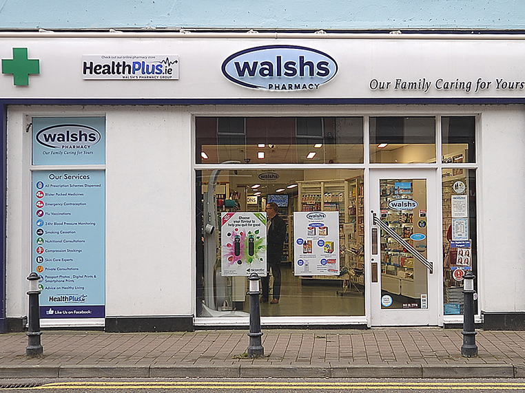 Walsh's Pharmacy Loughrea Front