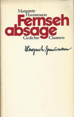 Margarete Hannsmann: Fernsehabsage