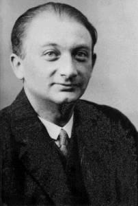 Joseph Roth im Jahr 1918. Quelle: wikipedia.de