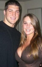 Tim Tebow with Google girl - 2021 NFL Mock Draft Updated 4/13