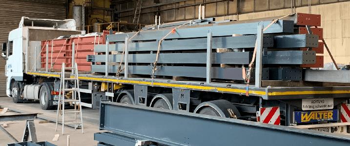 Stahlträger LKW Geschichte 300v2