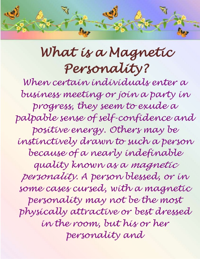magnetic-personality