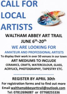 Art Trail call for artists