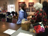 "Receiving signed copies of ""Cedar Hill Memories"""