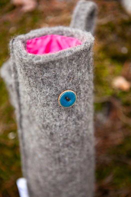 A wool tube