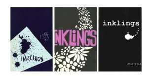 Inklings Literary Magazine was established in 1966 at Eastern University and has published many editions, including the ones pictured above.