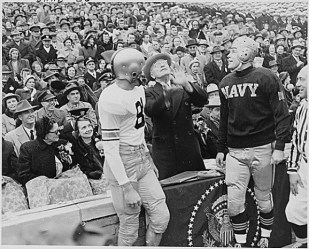 The Army Vs. Navy game hosted by USAA represents long- standing traditions and Camaraderie.