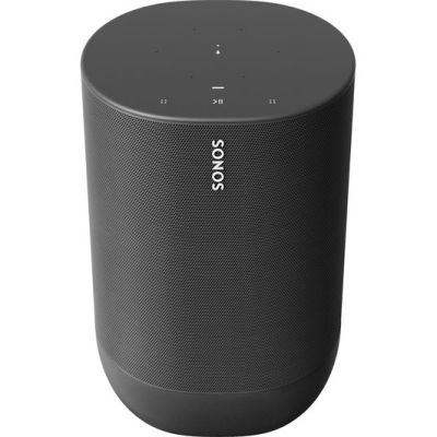 SONOS Move Portable Wireless Multi-room Speaker with Google Assistant & Amazon Alexa – Black