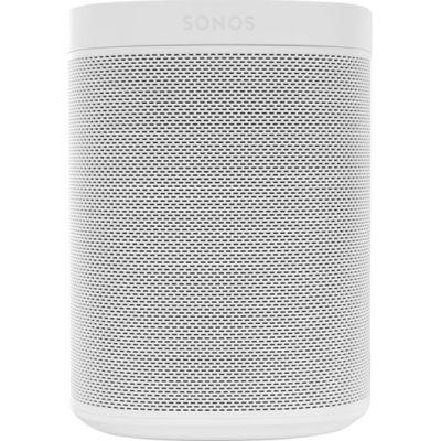 SONOS One Wireless Multi-room Speaker with Amazon Alexa & Google Assistant – White (Gen 2)