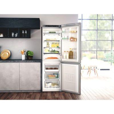 HOTPOINT H3T811IOX 70/30 Fridge Freezer – Inox