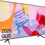 Samsung  2020 75″ Q60T QLED 4K Quantum HDR Smart TV with Tizen OS.