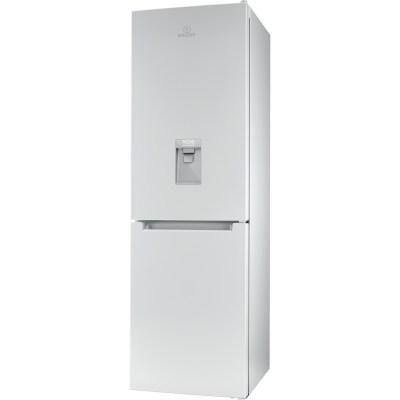INDESIT LR8S1WAQUK.1 60CM X 189CM Low Frost Fridge Freezer, White
