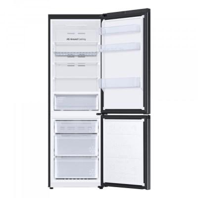 Samsung RB34T602EBN/EU Freestanding 70/30 Frost Free Fridge Freezer, Black