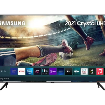 Samsung UE55AU7100KXXU 55″ Smart 4K Ultra HD HDR LED TV with Bixby, Alexa & Google Assistant