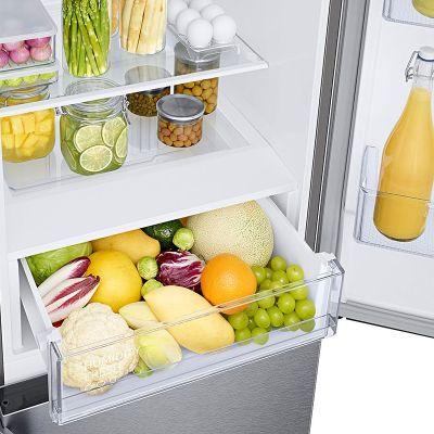 Samsung RB36T620ESA/EU Freestanding 70/30 Fridge Freezer, Silver