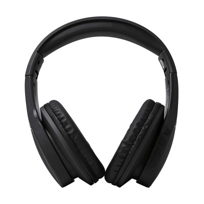 Akai A58078  Bluetooth Wireless Headphones with Built-In Microphone Black