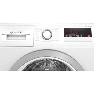 BOSCH Serie 4 WTH85222GB 8 kg Heat Pump Tumble Dryer – White