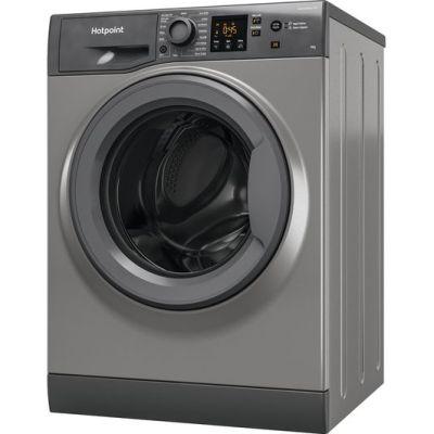 HOTPOINT NSWF944CGGUKN 9 kg 1400 Spin Washing Machine – Graphite