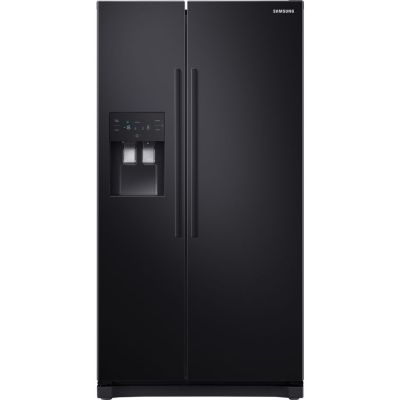 SAMSUNG RS50N3413BC/EU RS3000 American Style Fridge Freezer – Black