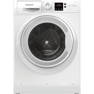 HOTPOINT NSWM1044CWUKN 10kg 1400 Spin Washing Machine – White