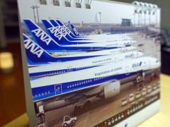 【全日空】ANA卓上メモカレンダーを買った