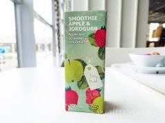 【IKEA】アップル&ストロベリースムージーはフルーティーで濃厚