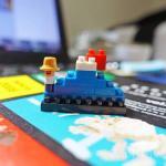 カワダのナノブロックワークショップで富士山を作ってみた!【東京おもちゃショー2016】