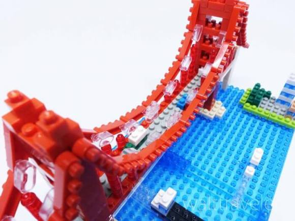 ナノブロック ゴールデンゲートブリッジ