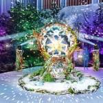 福徳の森イルミネーション2017-2018は流れ星とコラボ!時間は?