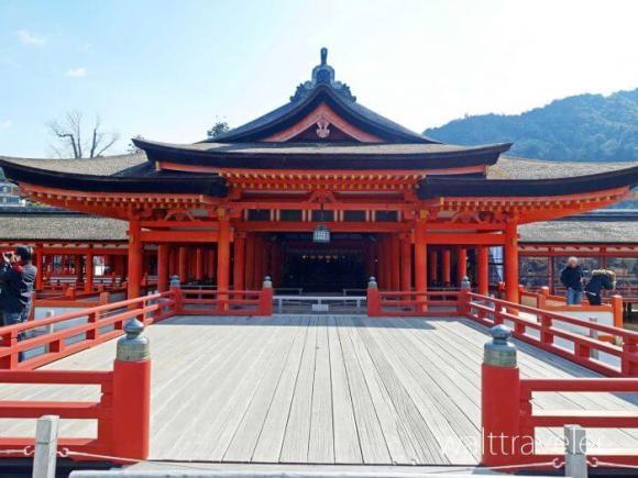 厳島神社 高舞台 宮島