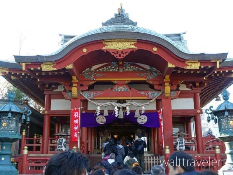 羽田神社 初詣