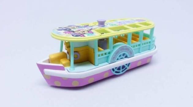 ディズニーイースター2017限定トミカ(トランジットスチーマーライン)はおしゃれなミッキーとミニー