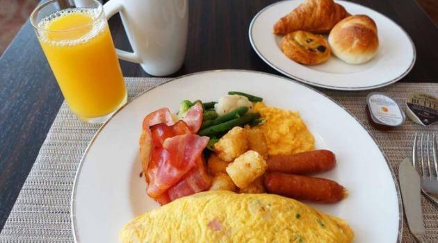 ヒルトン成田の朝食ビュッフェで海外気分に!8時以降がおすすめ!