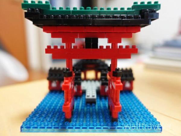ナノブロック nanoblock 厳島神社