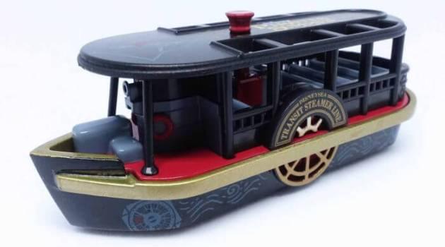 ディズニーパイレーツサマー2017限定トミカ(トランジットスチーマーライン・黒)はジャック・スパロウのようにエレガント