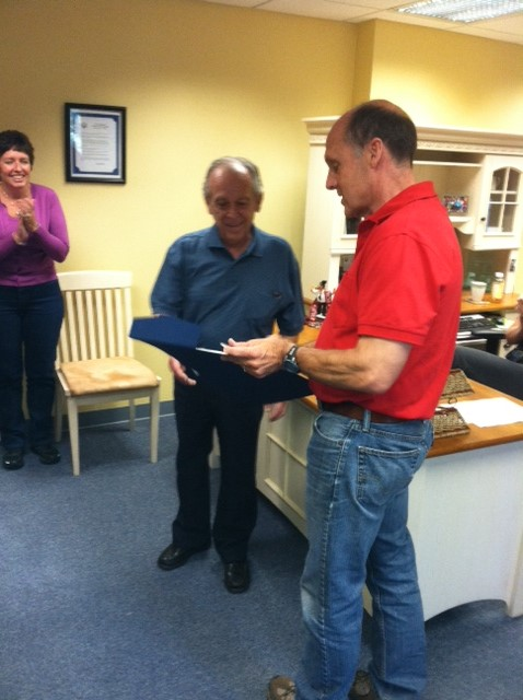 Dick Benedetti Honored