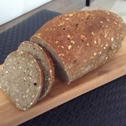 Pan de harina de chia