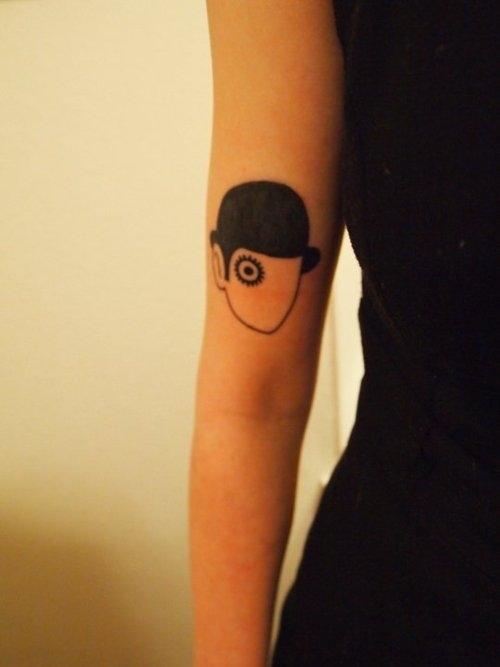 Tattoo from A Clockwork Orange