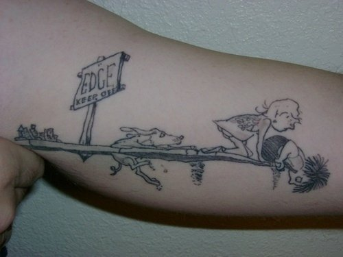 Tattoo from Where the Sidewalk Ends
