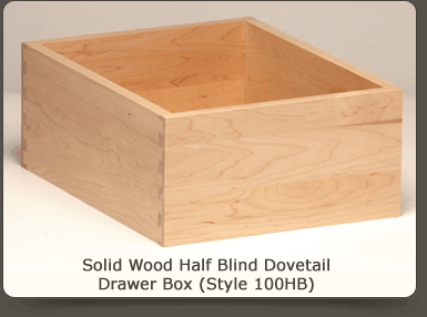 Maple (Natural Grade) Dovetail Drawer Box
