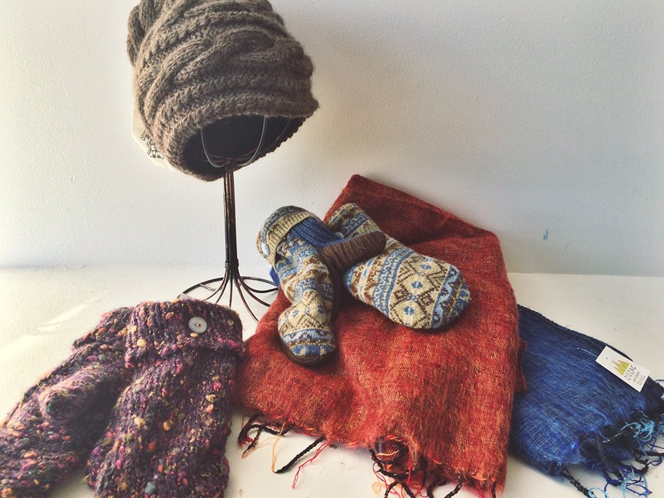 fair-trade winter gear