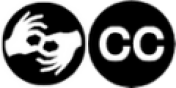 ASL and Closed Captioning Icons