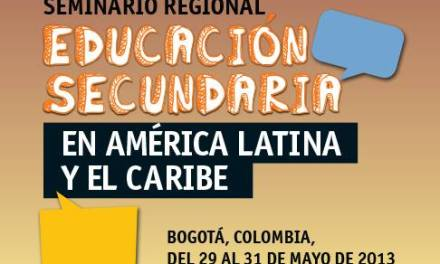 Seminario Regional de educación secundaria en América Latina y el Caribe