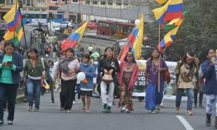 Comunicado de prensa: GONOAE respalda la movilización de las mujeres amazónicas en Ecuador