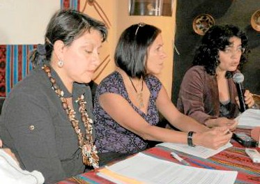 """Marisol Rodríguez: """"to exploit the territories of uncontacted peoples is to condemn them to hunger and extermination"""""""