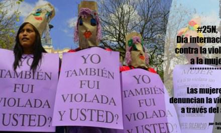 Fotoreportaje #25N – Acción contra la violencia hacia las mujeres