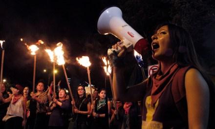 Contra la violencia de género, xenofobia y el fascismo