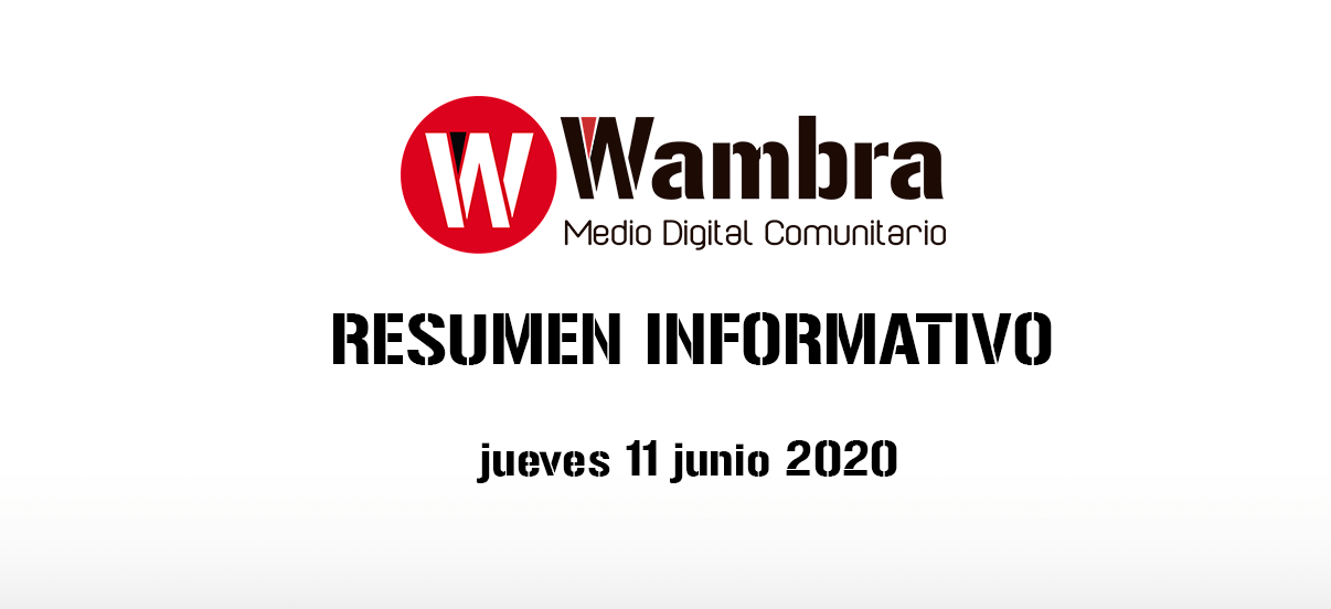 Corona Virus Ecuador – resumen 11 de junio 2020